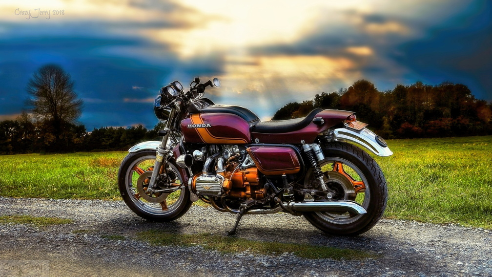 1978 Goldwing GL1000 Cafe Racer | CrazyJerry's Exquisite Photos